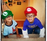 Our grandsons... Dante and Lance! -Richard L