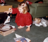 This is where my love of music began. Christmas 1958 or 59   - Sherry F