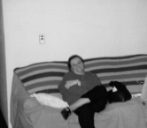 Mom Christmas Day 1995 (Liberty, KY) - Hatter Family