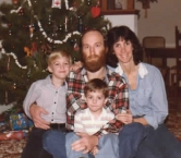 My husband, myself and my 3 stepsons who are now 35 and 39. - Dana W
