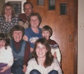 4 generation family photo - my Grandmother, who joined us for the holidays in the mid 80's, my parents, me in the right corner, and my children. You might recognize that my Dad resembled Buddy Holly. He was often mistaken for Mr. Holly in the 50's when he was in his early 20's. I am sure you can imagine the attention my Dad received when he was younger because of this - especially from women, he was quite popular. - Debbie A