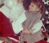 Visiting Santa 1964 - Diane A