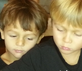 Our grandsons... Dante and Lance! - Richard L