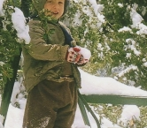 Here's a picture of me in1964.  Having a Merry Little Christmas in Mt. Baldy, CA - Susan O