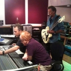 Recording Blue Sky Riders studio album